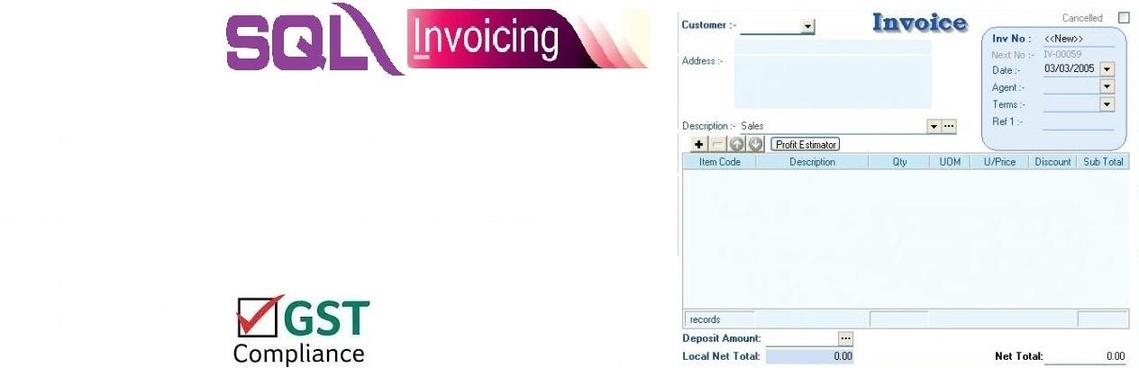 SQL Invoice