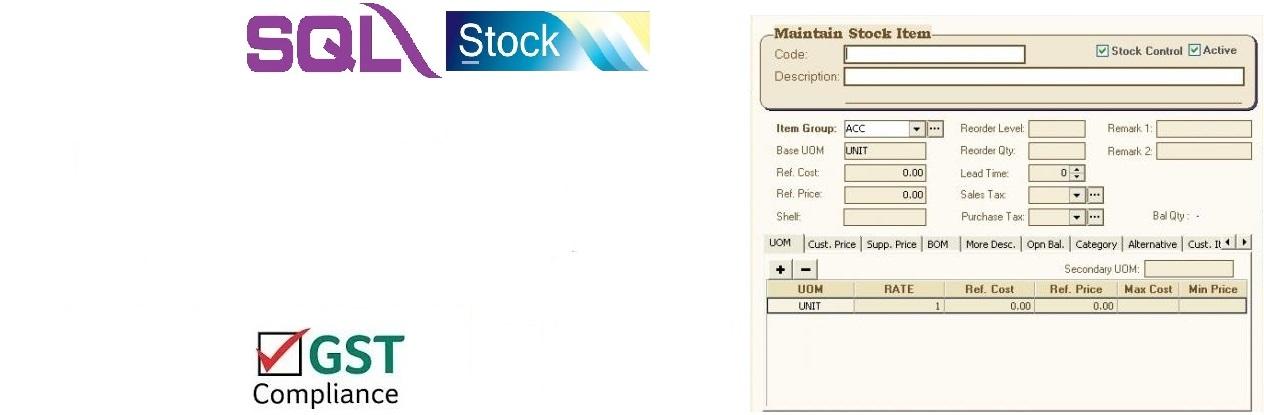 SQL Stock