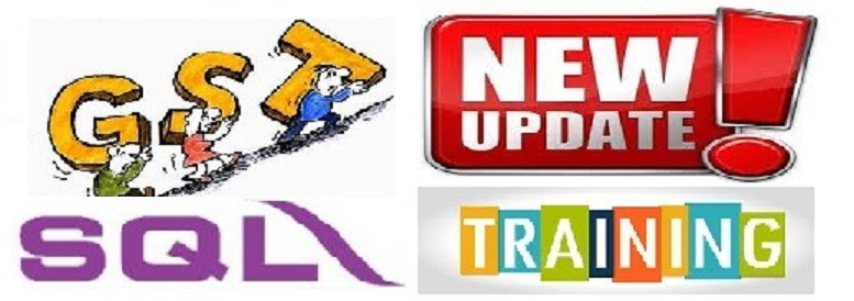 SQL GST UPDATE TRAINING